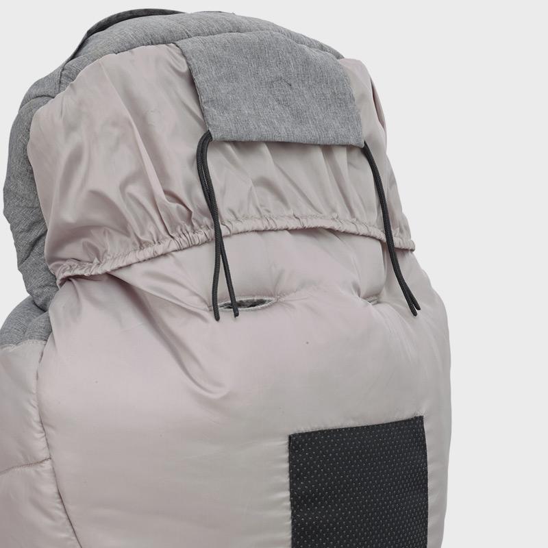 Anti-slip material rear insert