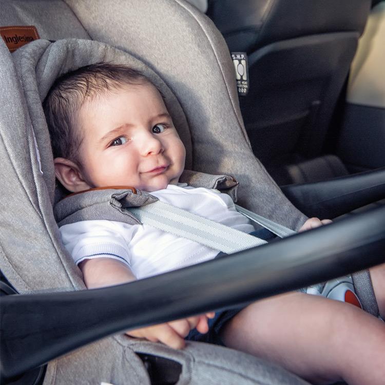 Pour les premiers voyages en voiture