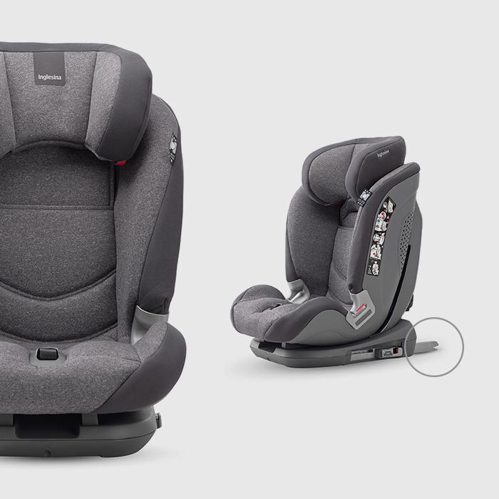 De 15 kg à la fin de l'obligation d'utiliser un siège auto