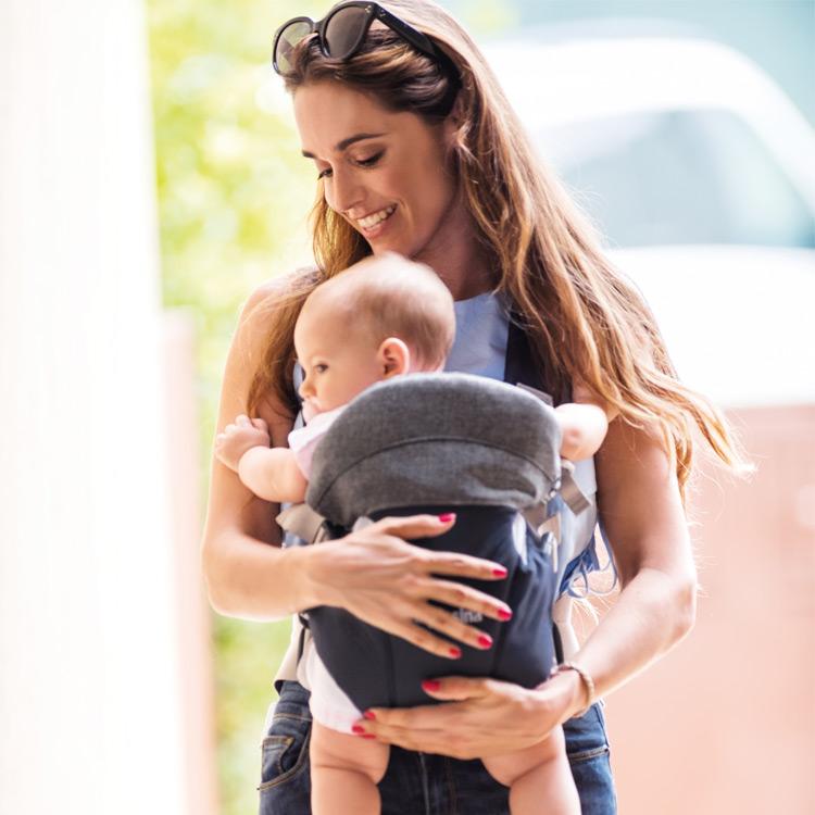 Άνετη μεταφορά του μωρού